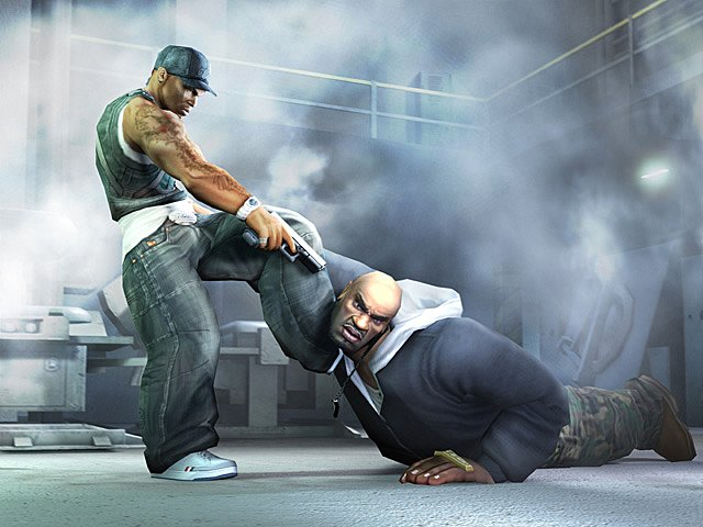 50 Cent: Bulletproof - PS2 Artwork