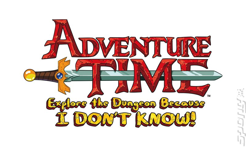 Adventure Time: Explore the Dungeon Because I DON'T KNOW! - 3DS/2DS Artwork