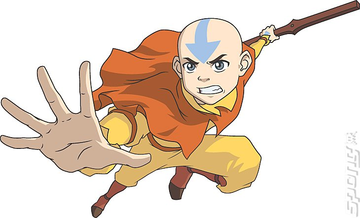 Avatar the legend of aang gamecube artwork