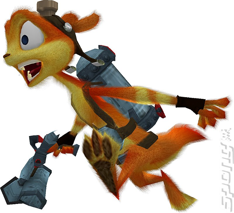 Daxter - PSP Artwork