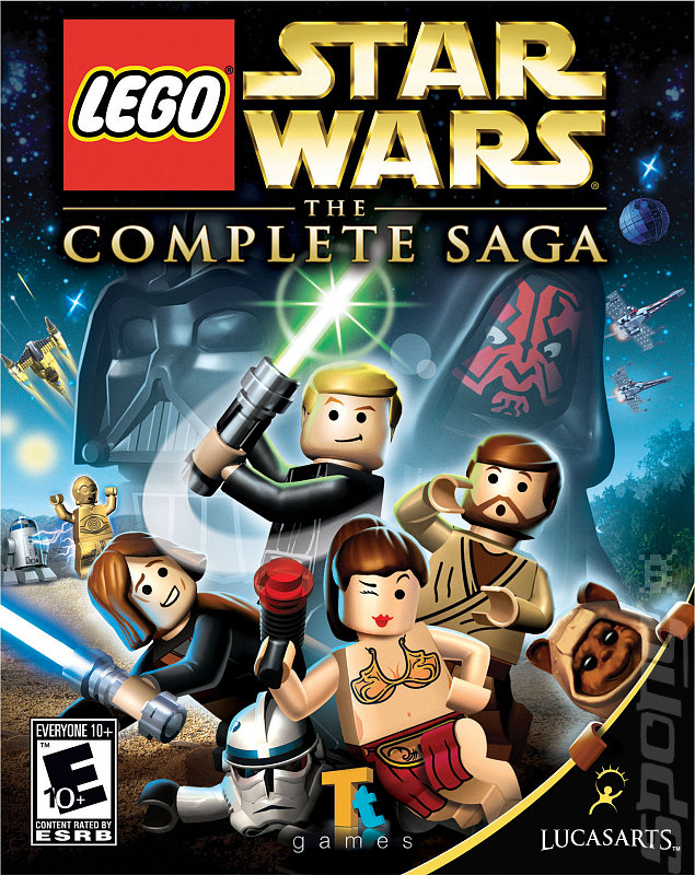 Lego Star Wars: The Complete Saga - DS/DSi Artwork