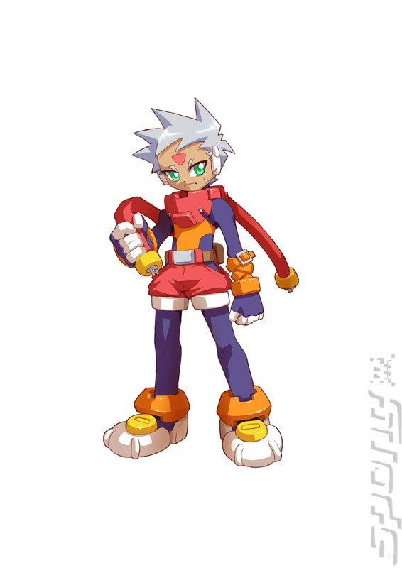 Mega Man ZX Advent - DS/DSi Artwork