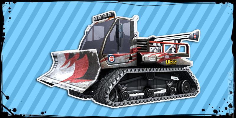 MotorStorm: Arctic Edge - PSP Artwork