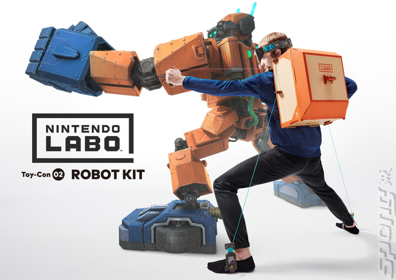 Nintendo Labo Robot Kit: Toy-Con 02 - Switch Artwork