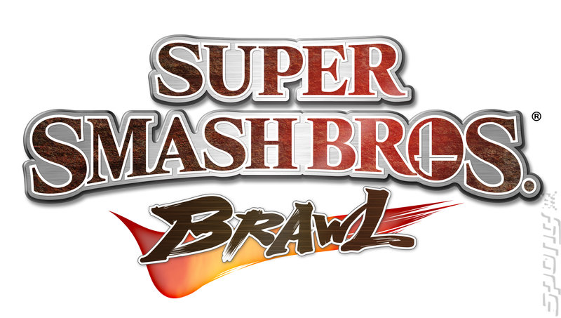 Super Smash Bros. Brawl - Wii Artwork