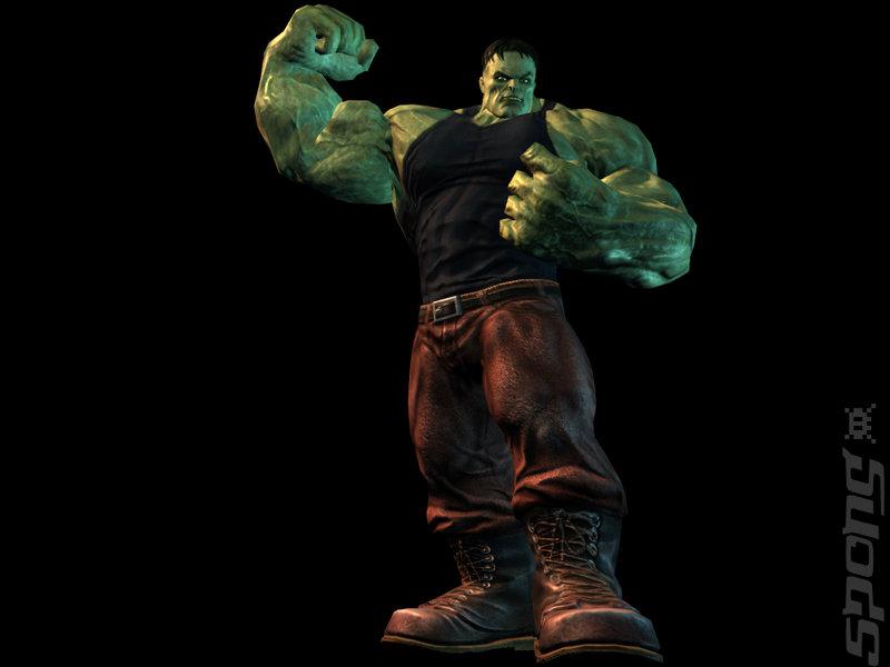 Artwork images: The Incredible Hulk - PS2 (1 of 12)