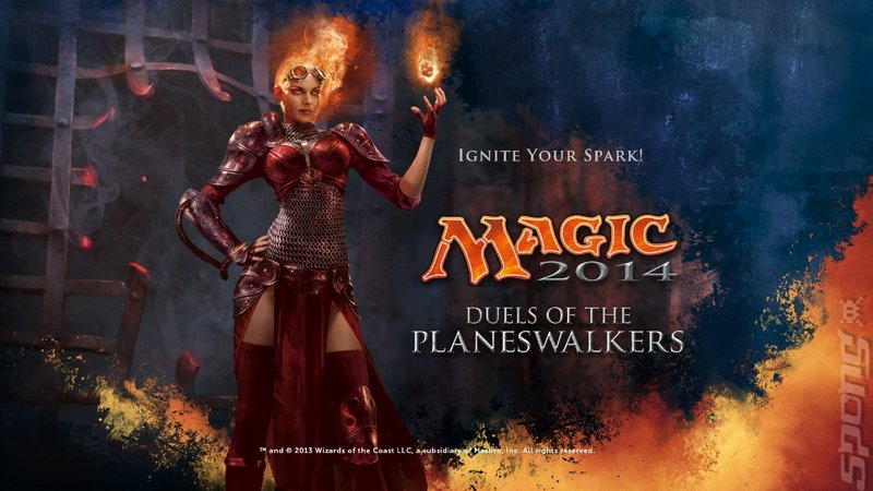 Magic the Gathering: Duels of the Planeswalkers 2014 Editorial image