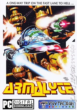 Armalyte - PC Cover & Box Art