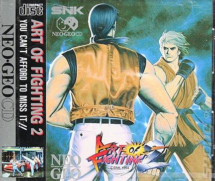 Covers Box Art Art Of Fighting 2 Neo Geo 4 Of 5