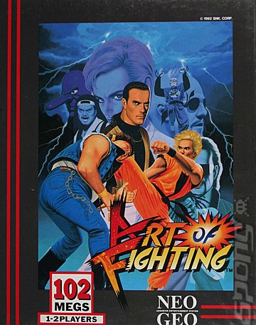 Art of Fighting - Neo Geo Cover & Box Art