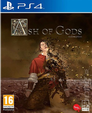 Ash of Gods: Redemption - PS4 Cover & Box Art