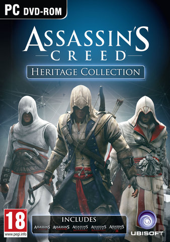 Assassin's Creed: Heritage Collection - PC Cover & Box Art