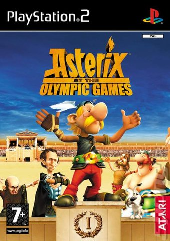Asterix at the Olympic Games PS2 ISO