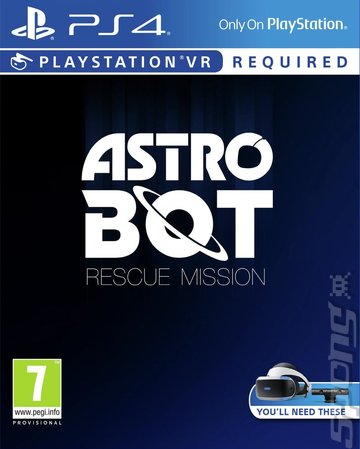 Astro Bot Rescue Mission - PS4 Cover & Box Art