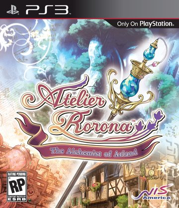 Atelier Rorona - PS3 Cover & Box Art