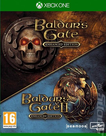 Baldur's Gate: Enhanced Edition and Baldur's Gate II: Enhanced Edition - Xbox One Cover & Box Art
