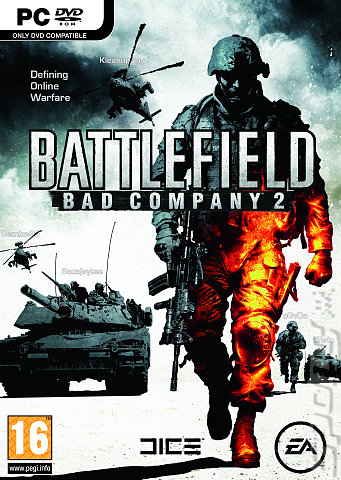 Battlefield: Bad Company 2 - PC Cover & Box Art