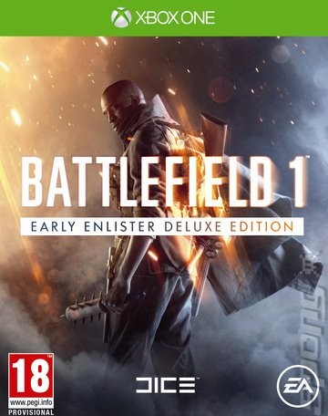 Battlefield 1 - Xbox One Cover & Box Art