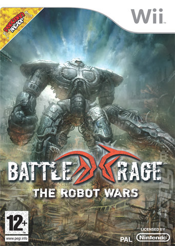 Battle Rage: The Robot Wars - Wii Cover & Box Art