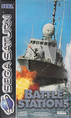 Battle Stations - Saturn Cover & Box Art