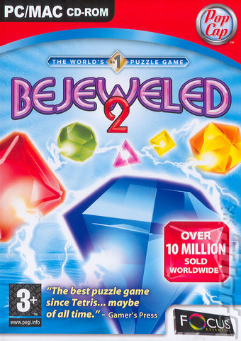 Bejeweled 2 - PC Cover & Box Art