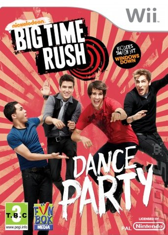 Big Time Rush: Dance Party - Wii Cover & Box Art