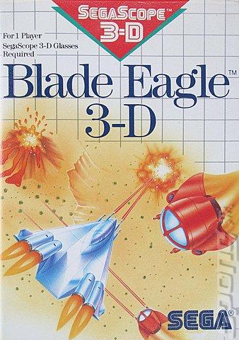 Sega Master System. Blade Eagle 3-D (Sega Master