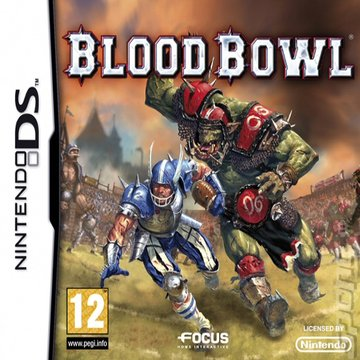 Blood Bowl  - DS/DSi Cover & Box Art