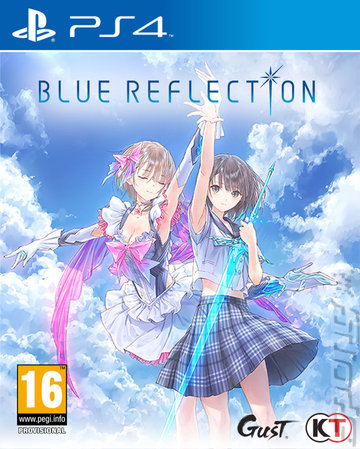 Blue Reflection Editorial image