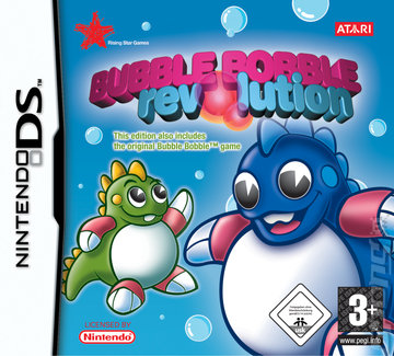 Bubble Bobble Revolution - DS/DSi Cover & Box Art