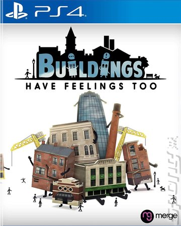 Buildings Have Feelings Too! - PS4 Cover & Box Art