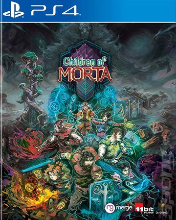 Children of Morta - PS4 Cover & Box Art