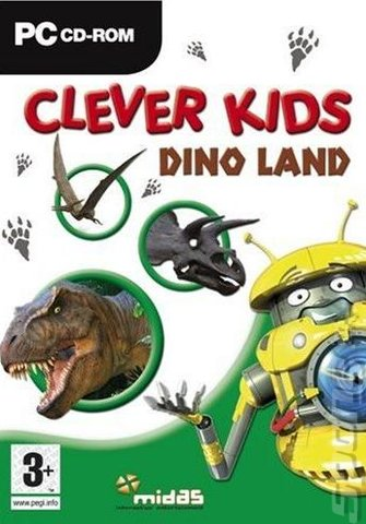 Clever Kids: Dino Land - PC Cover & Box Art