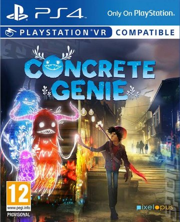 Covers & Box Art: Concrete Genie - PS4 (1 of 2)