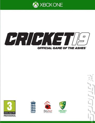 Cricket 19: The Official Game of the Ashes - Xbox One Cover & Box Art