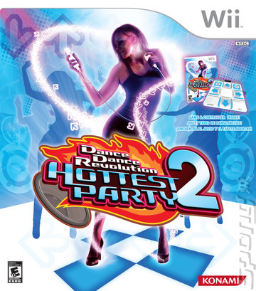 Dance Dance Revolution Hottest Party 2 - Wii Cover & Box Art