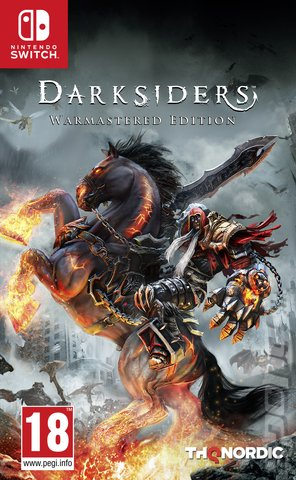 Darksiders - Switch Cover & Box Art
