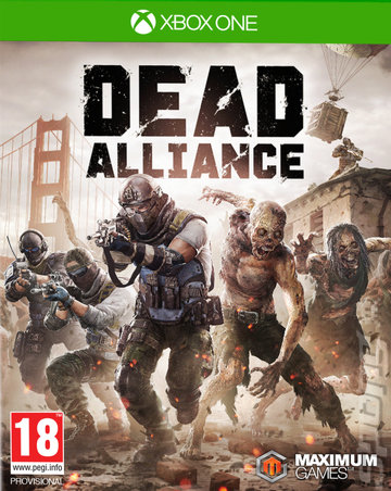 Dead Alliance - Xbox One Cover & Box Art