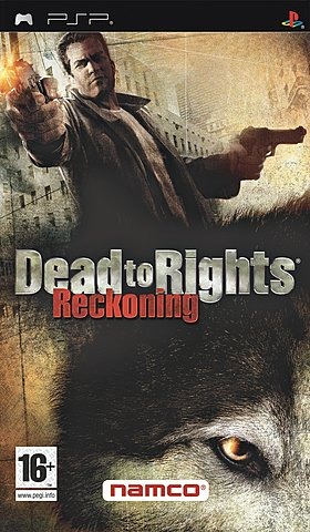 Dead to Rights: Reckoning - PSP Cover & Box Art