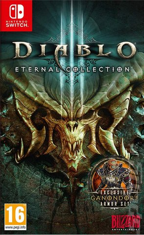 Diablo III: Eternal Collection - Switch Cover & Box Art
