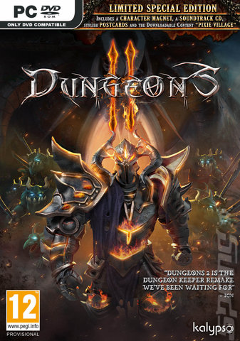 Dungeons II - PC Cover & Box Art