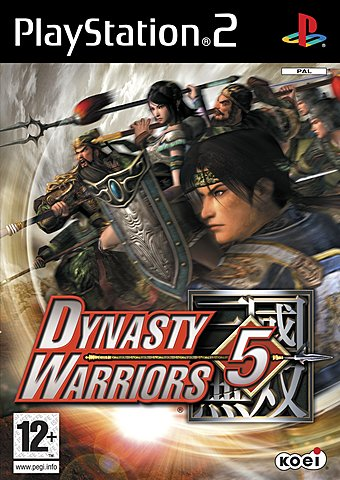Dynasty Warriors 5 - PS2 Cover & Box Art