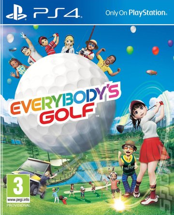 Everybody's Golf - PS4 Cover & Box Art