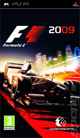 F1 2009 - PSP Cover & Box Art
