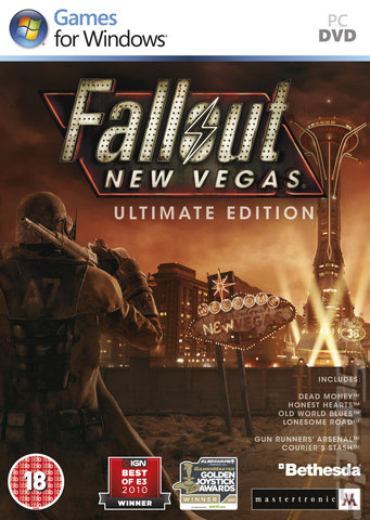 Fallout: New Vegas: Ultimate Edition - PC Cover & Box Art