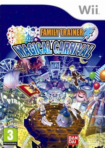 Family Trainer: Magic Carnival - Wii Cover & Box Art