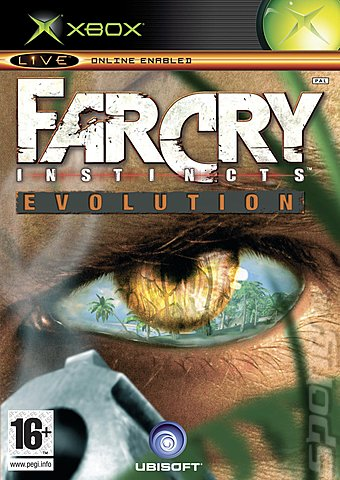 Far Cry Instincts Evolution - Xbox Cover & Box Art