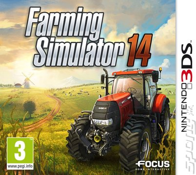 Farming Simulator 14 - 3DS/2DS Cover & Box Art