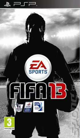 FIFA 13 - PSP Cover & Box Art