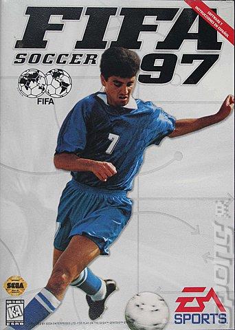 FIFA 97 - Sega Megadrive Cover & Box Art